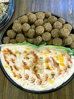Falafal & Hummus Platter